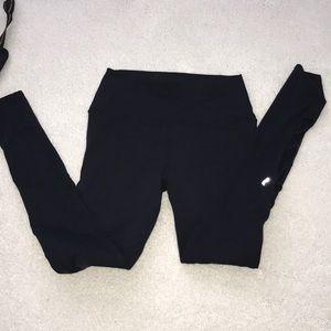 MED ALO leggings with open legs
